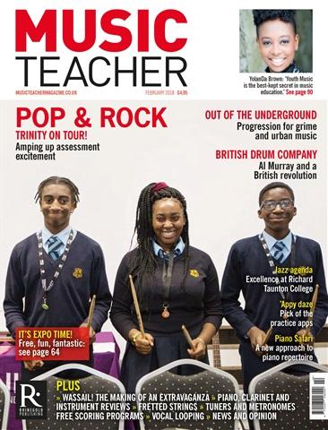 Music Teacher issue February 2018