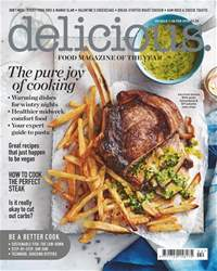 Delicious Magazine issue February 2018