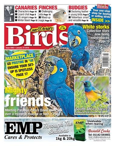 Cage & Aviary Birds issue 24 January 2018
