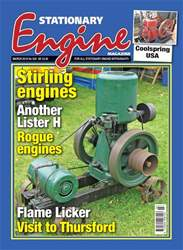 Stationary Engine issue March 2018