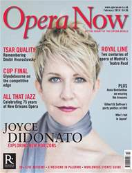 Opera Now issue February 2018