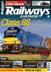 Railways Illustrated issue  March 2018