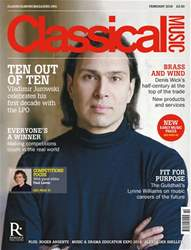 Classical Music issue February 2018