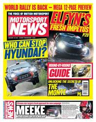 Motorsport News issue 24th January 2018