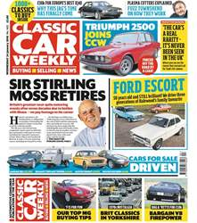 Classic Car Weekly issue 24th January 2018