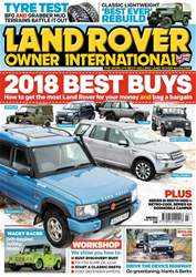 Land Rover Owner issue March 2018