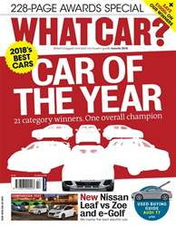 What Car Magazine issue Awards 2018
