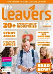 The Leavers Guide issue The Leavers Guide 2018