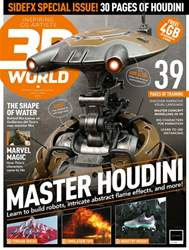 3D World issue March 2018