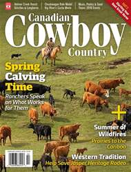 Canadian Cowboy Country issue Feb/Mar 2018
