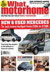 What Motorhome magazine issue Mercedes motorhomes special - March 2018