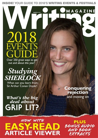 Writing Magazine issue March 2018