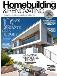 Homebuilding & Renovating Magazine issue March 2018