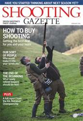 Shooting Gazette issue February 2018