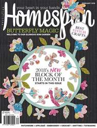 Homespun issue Issue #19.2 2018