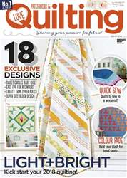 Love Patchwork & Quilting issue Issue 57