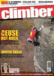 Climber Feb12 issue Climber Feb12