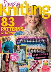 Simply Knitting issue Issue 169