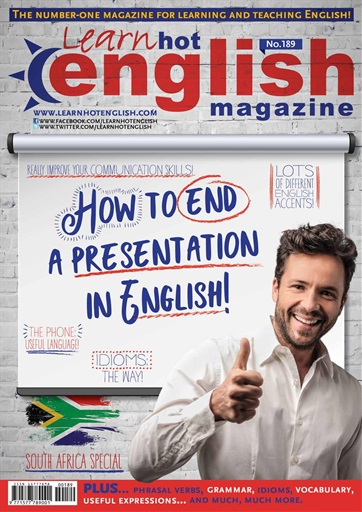 Learn Hot English Magazine - No.189 (PDF+Audio)
