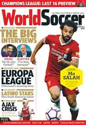 World Soccer issue February 2018