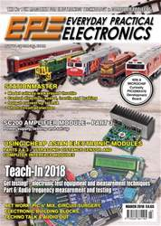Everyday Practical Electronics issue Mar-18