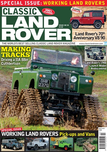 Classic Land Rover Magazine Preview
