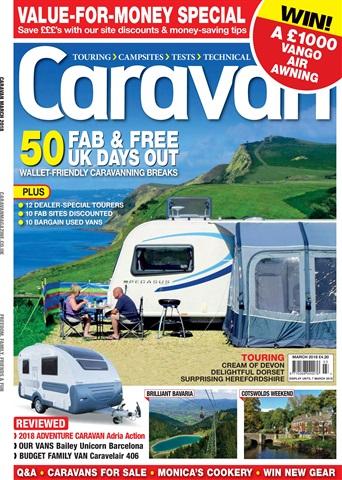 Caravan Magazine issue Caravan Magazine | Value for Money Special | March 2018