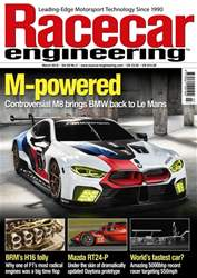 Racecar Engineering issue March 2018
