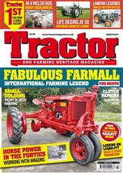 Tractor & Farming Heritage Magazine issue March 2018