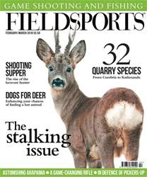 Fieldsports February/March 2018 issue Fieldsports February/March 2018