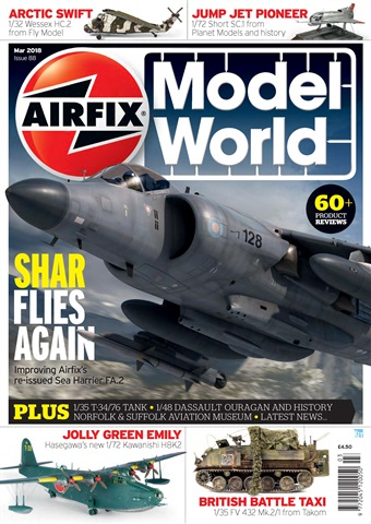 Airfix Model World issue  March 2018