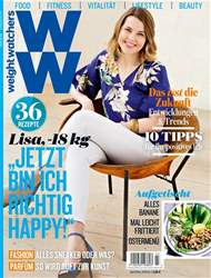 Weight Watchers Magazin Deutschland issue April/Mai 2018