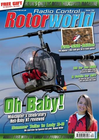 Radio Control Rotor World issue 134 March 2018
