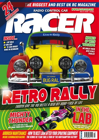 Radio Control Car Racer issue March 2018