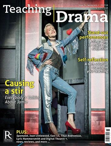 Teaching Drama issue Spring 2 2017/18