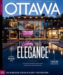 Ottawa Magazine issue Interiors 2018