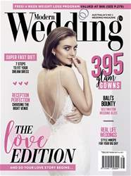 Modern Wedding Magazine Cover