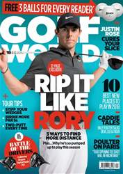 Golf World issue April 2018
