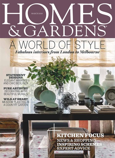Homes & Gardens Magazine - March 2018 Subscriptions ...