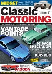 Classic Motoring Magazine Cover