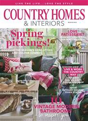 Country Homes & Interiors issue March 2018
