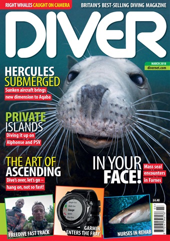 DIVER issue MARCH 2018