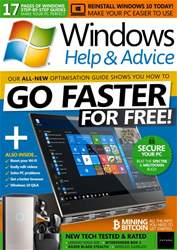 Windows Help & Advice issue February 2018