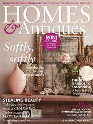 Homes & Antiques Magazine issue March 2018