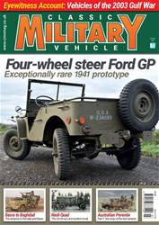 Classic Military Vehicle issue  March 2018