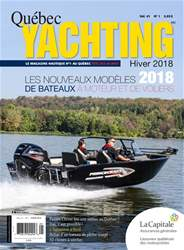 Quebec Yachting issue Hiver 2018