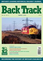 Backtrack issue March 2018
