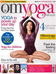 OM Yoga Magazine issue March 2018