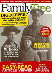 Family Tree March 2018 issue Family Tree March 2018