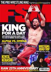 Fighting Spirit Magazine issue Issue 155